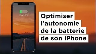Optimiser l'autonomie de la batterie de son iPhone.