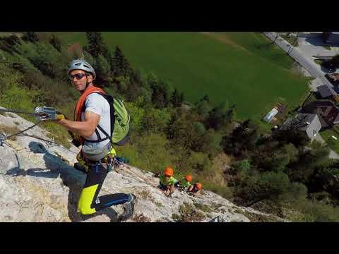 Ferata Mojstrana-Kranjska Gora-Slovenia