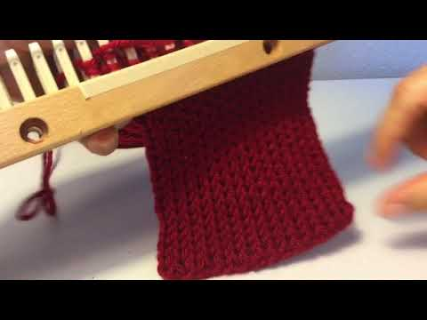 K2tog Stretchy Bind Off For Loom Knitting Youtube