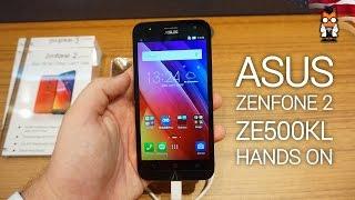 ASUS Zenfone 2 ZE500KL Hands On [english]