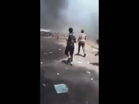 بالفيديو .. اقتحام قائمقامية المجر / ميسان