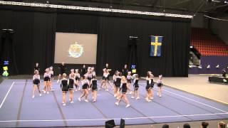 Cheerleading SM 2013, Uppsalaflickorna USC Excaliburs