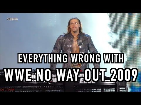 Episode #310: Everything Wrong With WWE No Way Out 2009