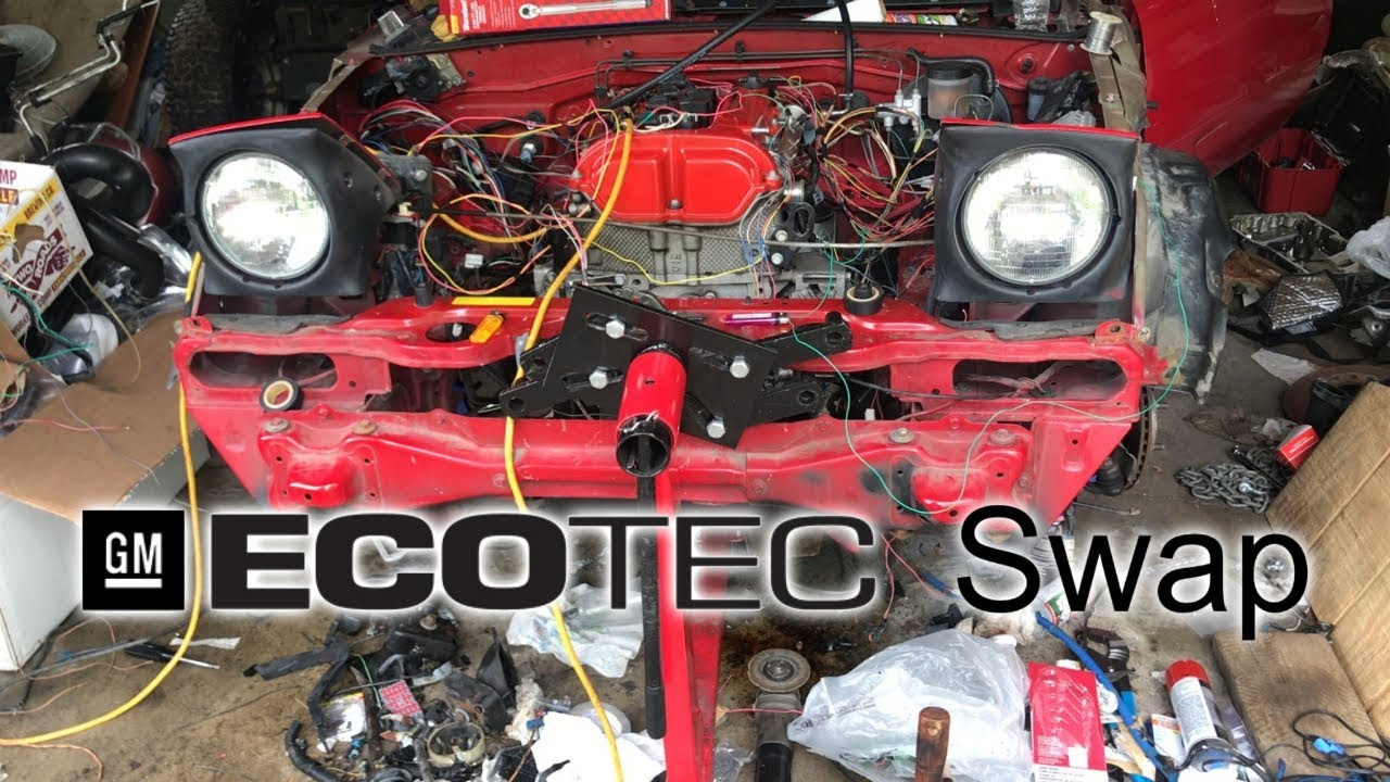 ECOTEC SWAPPING THE MIATA (Part 1)