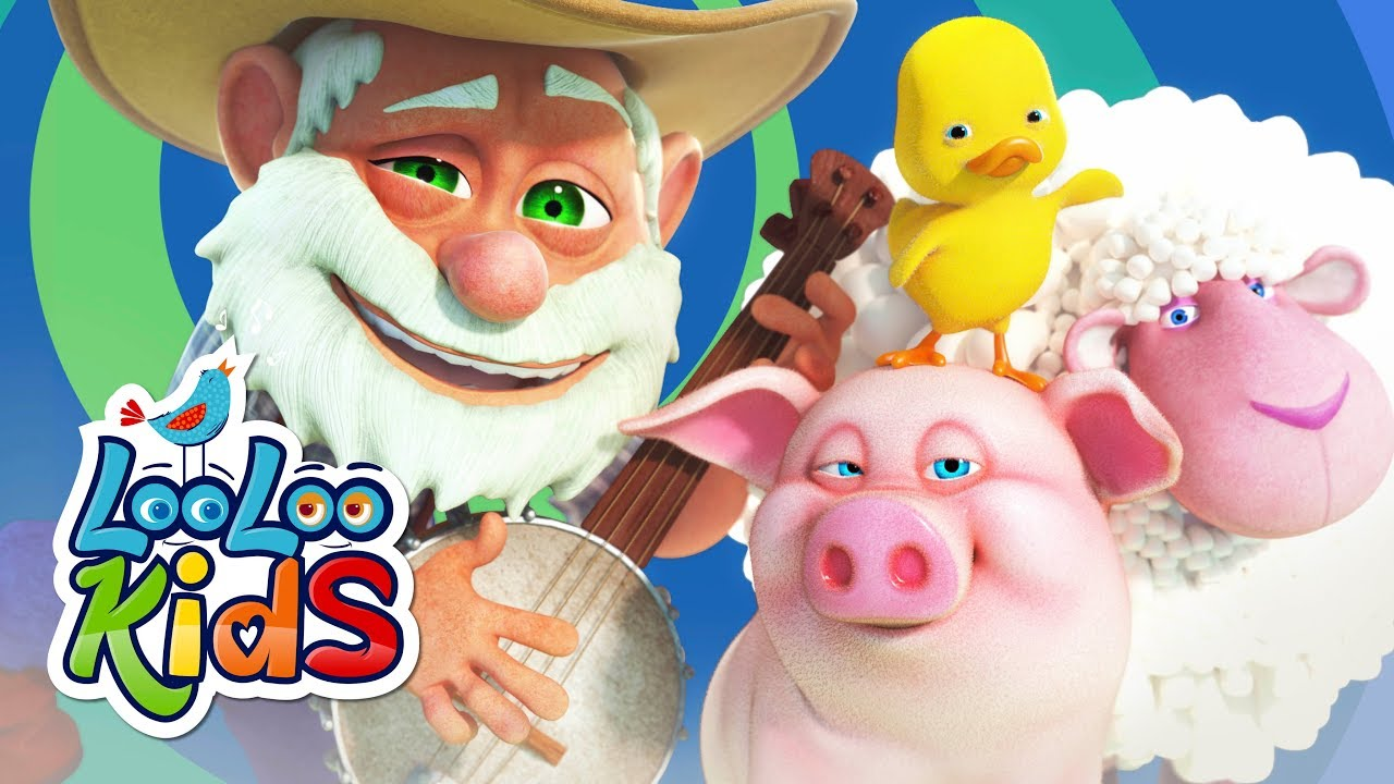 Old MacDonald Had a Farm - THE BEST Songs for Children   LooLoo Kids