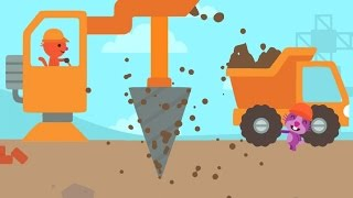 Sago Mini Trucks and Diggers Cranes and Bulldozers Kids games by Sago Sago