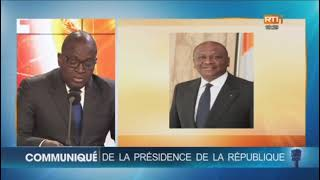 Décès Du Premier Ministre Hamed Bakayoko : Le Communiqué De La Présidence De La République
