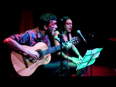 Santiago Adano y Mariana Bugallo - El loco - Seduce Cabaret Digital (La oreja Negra - 9/6/13)