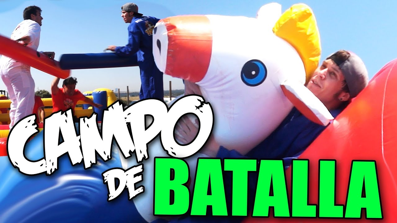 CAMPO DE BATALLA, OBSTACULOS Y CABALLOS - YouTube