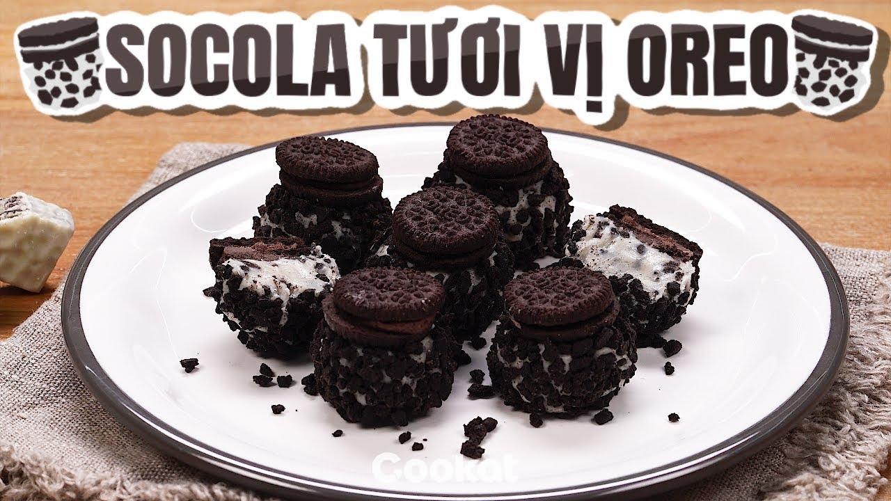 [Cookat Việt Nam] Socola Tươi Vị Oreo