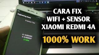 Gambar cover Cara Fix All Sensor WIFI Bluetooth Xiaomi Redmi 4A (ROLEX) FILE GRATIS !!