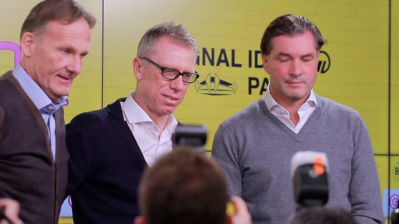 PK Vorstellung Peter Stöger neuer Trainer des BVB