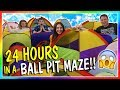 24 HOURS IN A BALL PIT MAZE We Are The Davises mp3