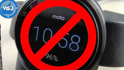 How to Turn off Your Moto 360 Smartwatch Screen When Charging