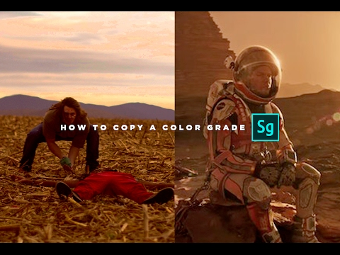 Copy A Color Grade INSTANTLY (Adobe Speedgrade Tutorial) thumbnail