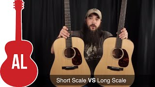 Short Scale vs Long Scale - Guitar Scale Length Comparison