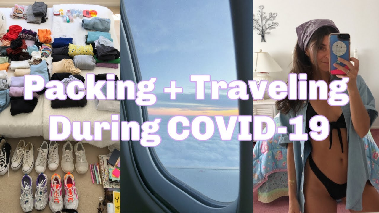 VLOG: how I pack + traveling during COVID-19
