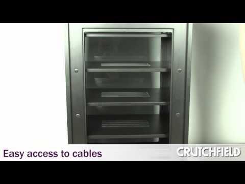 BDI Mirage Audio Video Cabinet | Crutchfield Video