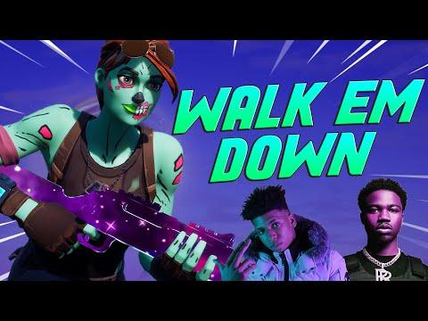 """Fortnite Montage – """"WALK EM DOWN"""" (Roddy Ricch, NLE Choppa)"""