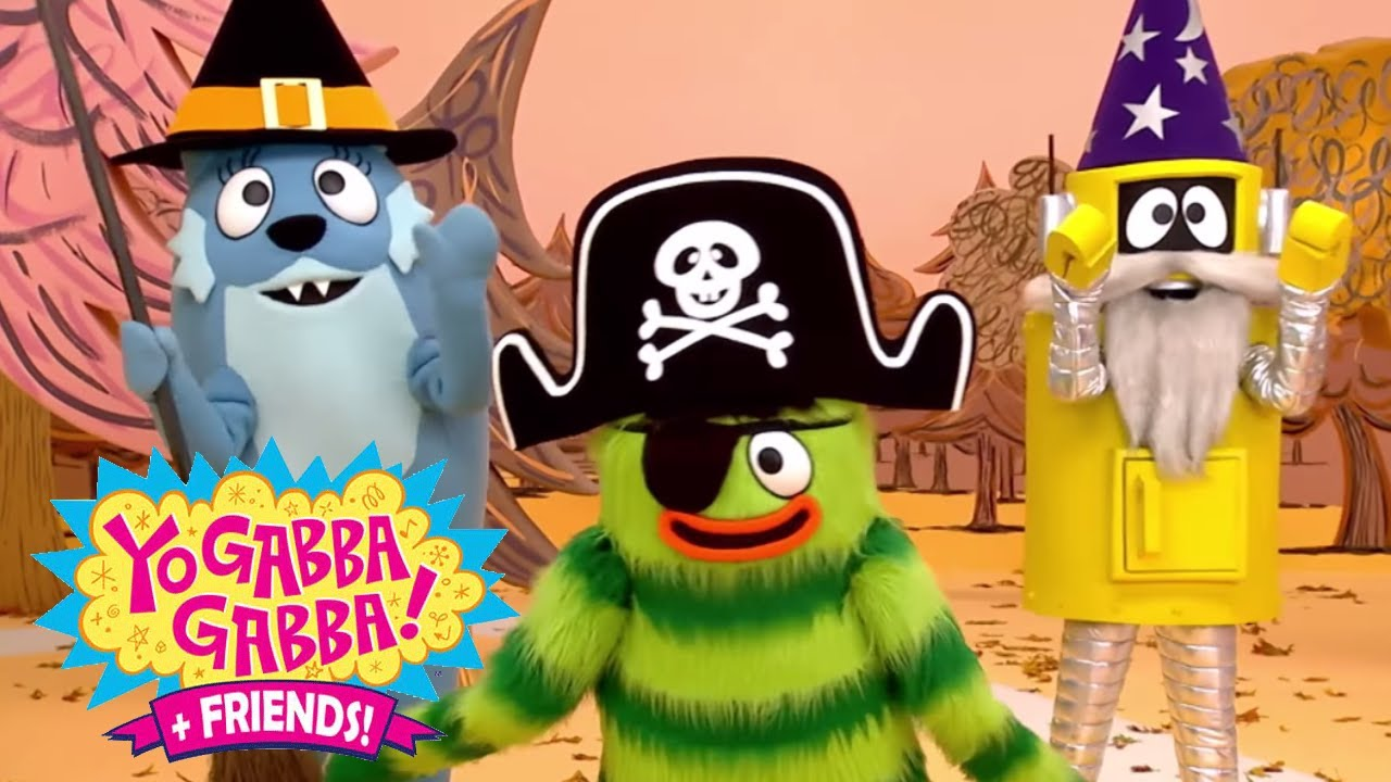 yo gabba gabba 110 halloween full episodes hd season