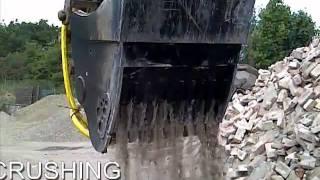 new crusher bucket from howard equipment