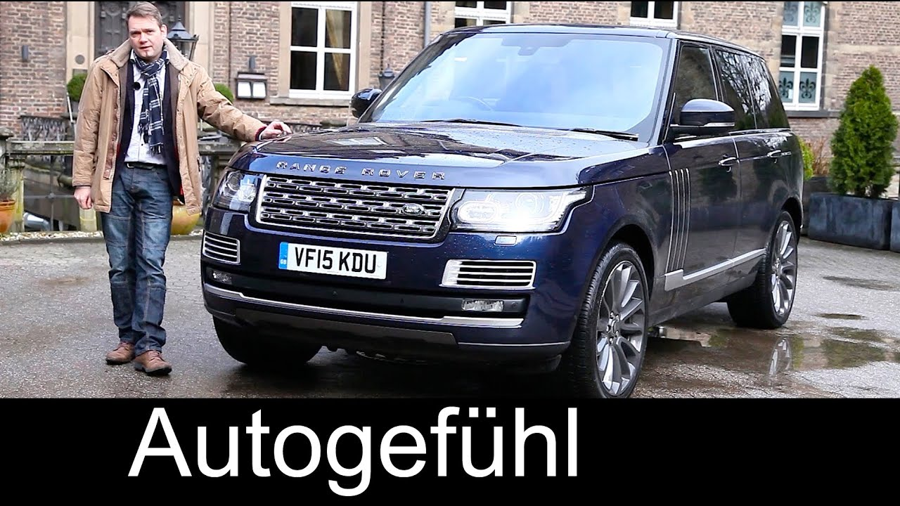Range Rover SV Autobiography top version V8 550 hp FULL REVIEW test