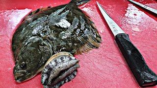 강도다리 회뜨기  전복은서비스~~ sashimi