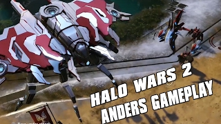 Halo Wars 2 - Anders Gameplay! Sentinel Super Unit!