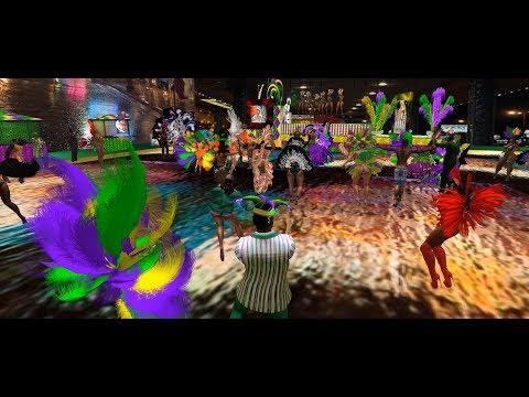 Cecil Jarman's Mardi Gras party 2018