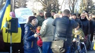 Потасовка на Вече в Краматорске