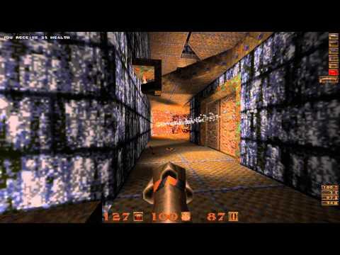 Quake Mission Pack: 2 Dissolution of Eternity - 10 Elemental Fury II - All Secrets - 1080p 60fps  