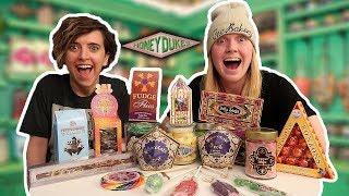 Trying Harry Potter Candy from Honeydukes ft. Tessa Netting
