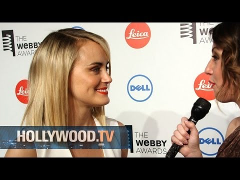 Taylor Schilling wins Webby Award - Hollywood.TV