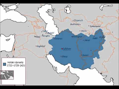 The War Between The Ottomans And Persians Of 1722-27