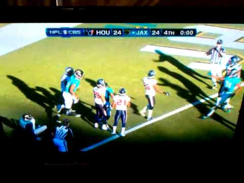 Jaguars beat Texans with Hail Mary