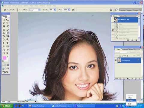 Làm Mịn Da Mặt đơn Giản Chuyên Nghiệp Với Photoshop