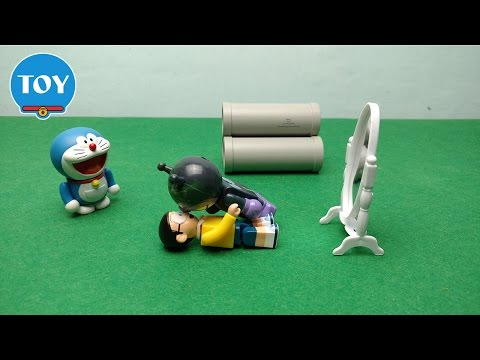 Xuka đi tắm trắng và kết quả bất ngờ - hoạt hình doremon chế đồ chơi trẻ em tập 34