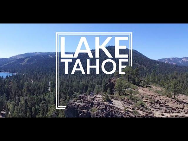 Soaring over Tahoe