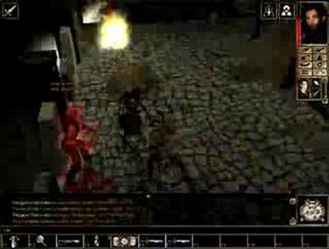 Let's Play Neverwinter Nights #8 Battling the Prison Hordes |
