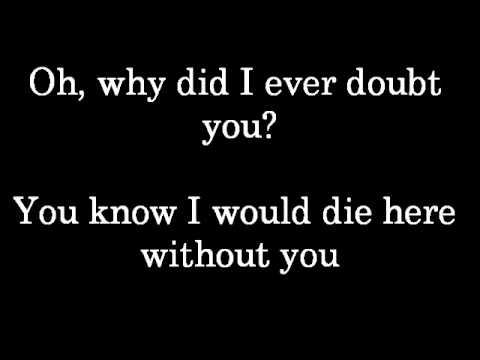 Daughtry  Life after you  lyrics
