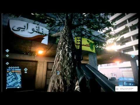 Gameplay Battlefield 3 - Truco del Arbol [HD]