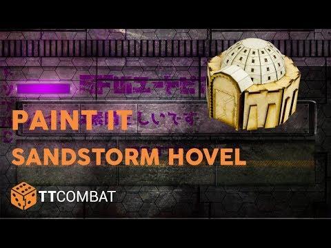 Paint It - Sandstorm Hovel