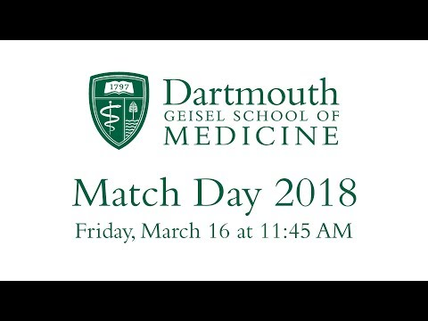 Match Day  2018 - Geisel School of Medicine at Dartmouth