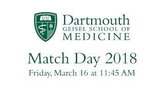 Match Day  2018 - Geisel School of Medicine at Dartmouth