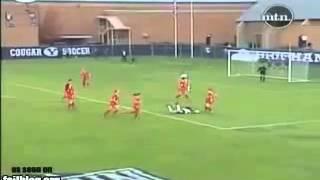 Футбольные приколы !Драка в женском футболе!