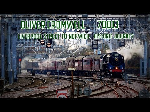 Oliver Cromwell 70013: Shenfield 2018