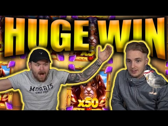 HUGE WIN on RISE OF THE MOUNTAIN KING - Casino Slots Big Wins