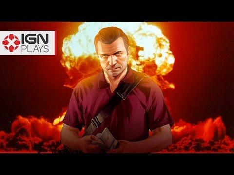 Nuke Launcher Mod in GTA 5 - IGN Plays