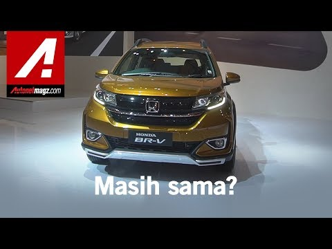 New Honda Br V With Updated Exteriors And Interiors Walkaround Video