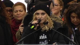 """Madonna at Women's March: """"I have thought an awful lot about blowing up the White House"""""""